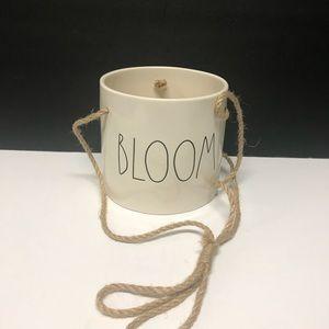 Rae Dunn Brand new BLOOM hanging Planter
